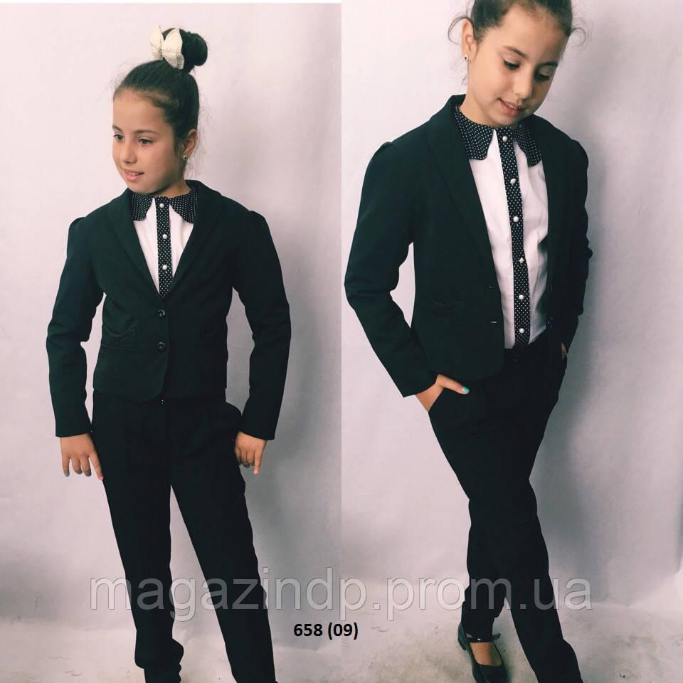 Пиджак на девочку подросток 658 (09) Код:733596368