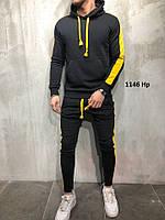 Мужской Спортивный костюм 1146 Нр Код:709971920