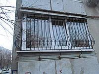 Балконные решётки с кованными элементами