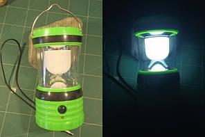 Светильник кемпинговый + usb-зарядка для мобильных телефонов, солнечная панель, встроенный аккумулятор