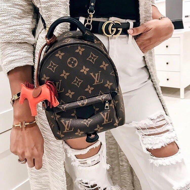 Рюкзак Louis Vuitton-mini Люксовый, монограмм