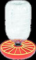 Вакуумная поилка для птицы под бутылку 3-6 литров