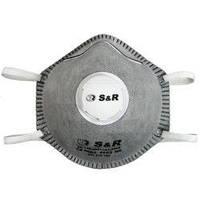 Копия Респиратор S&R FFP2 с клапаном, 10 шт, 601210102