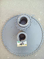 """Комплект звездочек  (уборки сои,подсолнечника) для  уменьшения оборотов барабана СК-5 """"Нива"""""""
