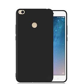 Силиконовый чехол Candy для Xiaomi Mi Max 2 (Черный)