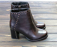 Женские ботинки на каблуке Fabio Monelli, фото 1
