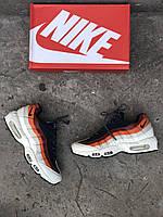 Мужские кроссовки в стиле  Nike Air Max 95 Essential Blue Red Grey