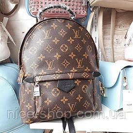 Рюкзак Louis Vuitton классика, средний на толстых лямках