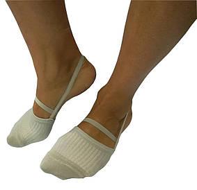 Полуноски (полупальцы) тканевые для гимнастики и танцев
