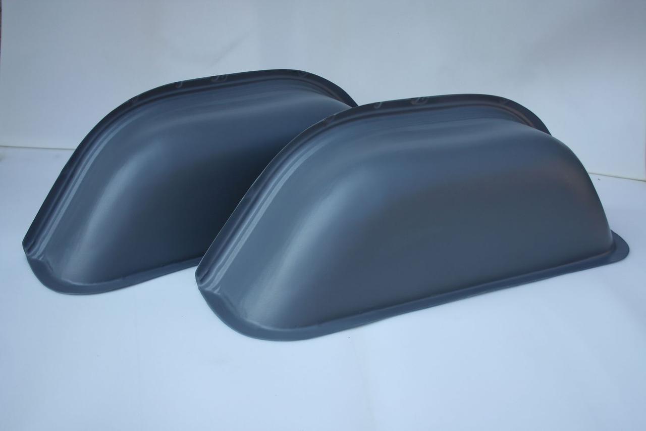 Накладки на колесные арки в Mercedes Sprinter/Volkswagen LT (Спринтер, ЛТ -2006) цвет серый