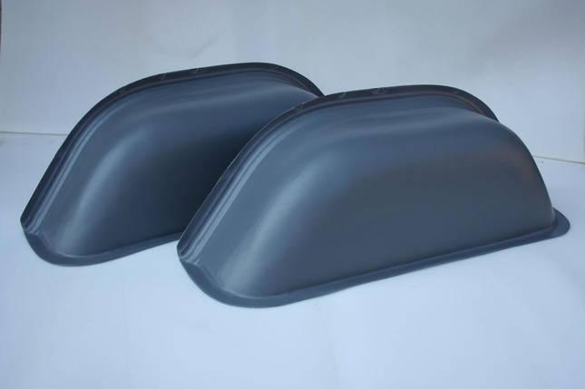 Накладки на колесные арки в Mercedes Sprinter/Volkswagen LT (Спринтер, ЛТ -2006) цвет серый, фото 2
