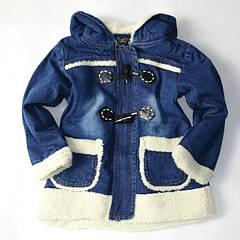 Джинсовые куртки демисезонные парки для девочек