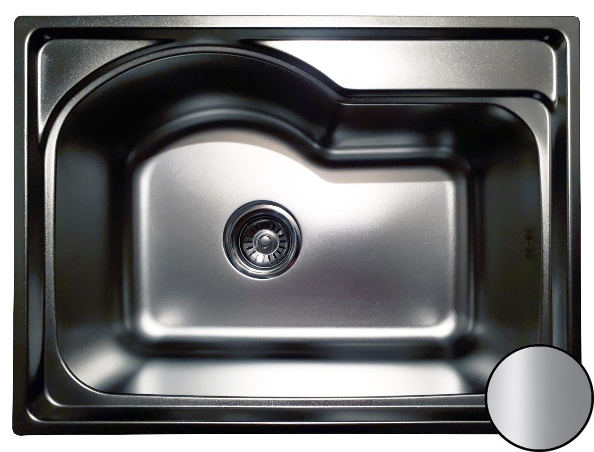 Кухонная мойка Galati Elina Satin (580*430*195)