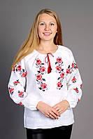 "Вышиванка женская ""Троянди-хрестик"" ( арт. BK1-44.3.0 ), фото 1"
