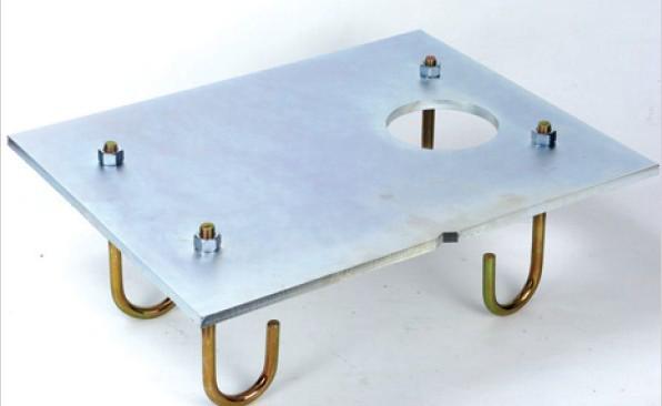 Монтажна пластина для шлагбаума Faac 620