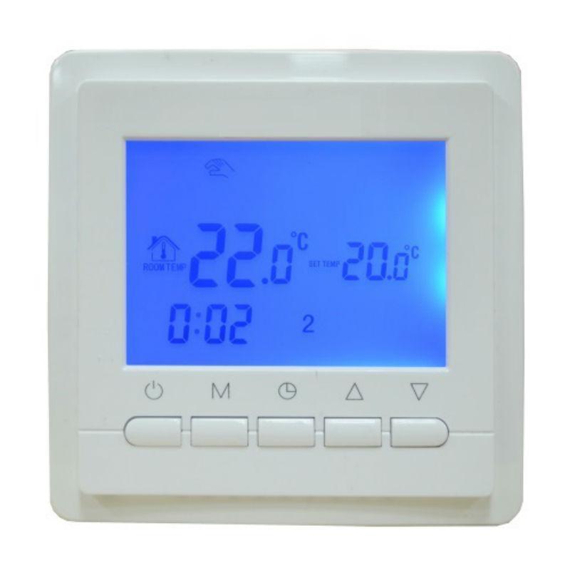 Недельный программируемый терморегулятор TC 40S для теплых полов, систем отопления.
