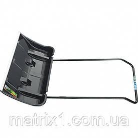Скрепер для снега 800 х 440 х 1300 мм, 2 части (ковш с колес., ручка) LUXE Palisad