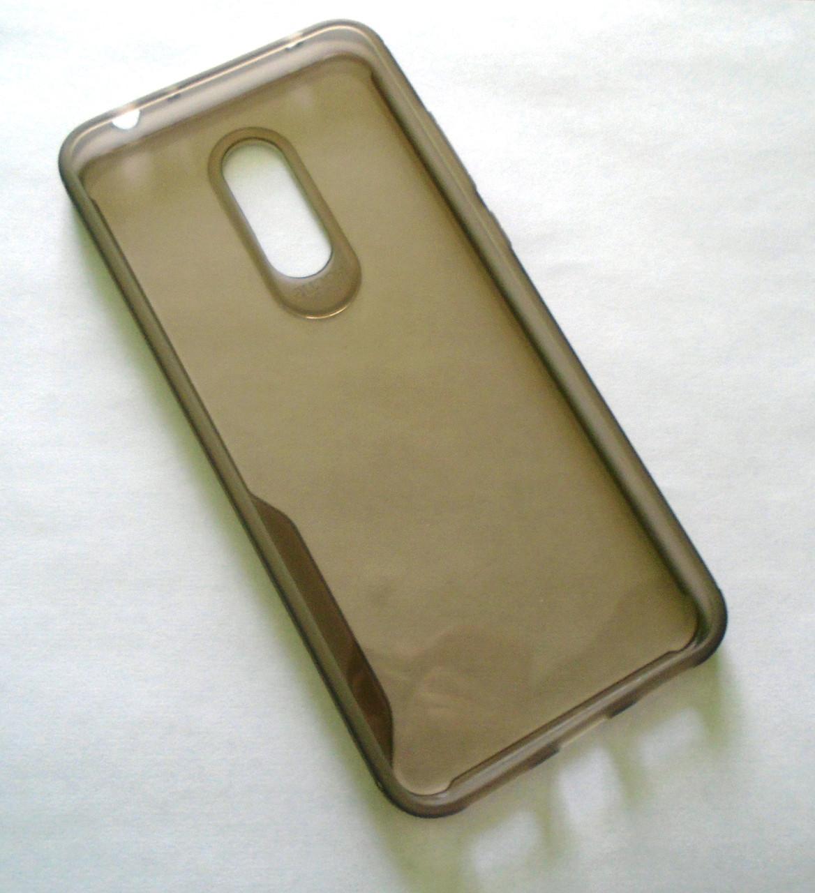 Силиконовый чехол накладка для Xiaomi Redmi 5 gray