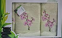 Набор бамбуковых полотенец. Бамбуковые полотенца в подарочной упаковке. Бамбуковые полотенца опт и розница
