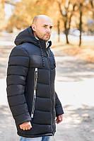 Зимняя удлиненная мужская куртка М 39, фото 1