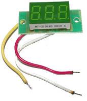 Вольтметр постоянного тока ВПТ-0,36 (0-99,9V) встраиваемый