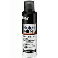 Balea Men Invisible Dry – мужской спрей дезодорант-антитранспирант, 200 мл. Германия
