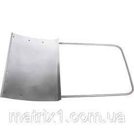 Движок для снега 750 х 500х1, 2 мм (алюминий) Сибртех