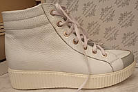 Ботинки демисезонные на низком ходу из натуральной кожи от производителя модель ОК-34, фото 1