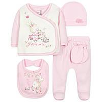Комплект 10 в 1 для новорожденной девочки Caramell (44-50) a846a4bd7b4ab