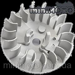 Магнето (Тип#1) , крыльчатка охлаждения двигателя для минимото, детских квадроциклов и мотоциклов