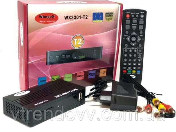 Цифровой эфирный тюнер Wimpex WX-3201