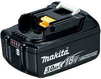 Аккумуляторная батарея Makita LXT BL1830B (Li-ion 18 V, 3.0 Ач)