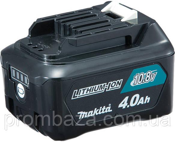 Аккумуляторная батарея Makita CXT BL1040B (Li-ion 10.8 V, 4.0 Ач), фото 2