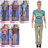 Кукла кен Defa 8372 (кукла мальчик кен): размер 31см, 5 видов