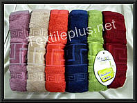 Полотенца банные бамбук Maxi Soft Versace 70*140 Турция, фото 1