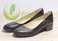 Туфли  кожаные женские Ross арт. 2493  ч\к 36-41 размеры, фото 1