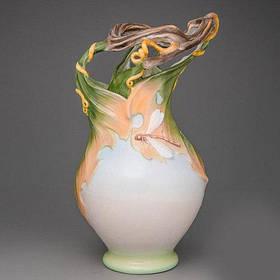 Ваза Veronese Цветок Дракона 30 см (20007AA)