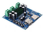 Усилитель звука стерео  50WX2 TPA3116D2, Bluetooth MP3 плеер декодер TF, USB плата, фото 2