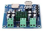 Усилитель звука стерео  50WX2 TPA3116D2, Bluetooth MP3 плеер декодер TF, USB плата, фото 3