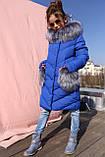 Детская зимняя куртка пуховик для девочки Банни, рост 110 - 122,  152-158.Украина Nui very, фото 5