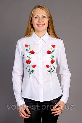Женская рубашка Маки