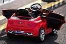 Електромобіль-спорткар червоний XM-826 RED для дітей 3-8 років з пультом, акумулятор 2*6V4.5AH, мотор 2*25W, фото 2