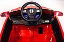Електромобіль-спорткар червоний XM-826 RED для дітей 3-8 років з пультом, акумулятор 2*6V4.5AH, мотор 2*25W, фото 3