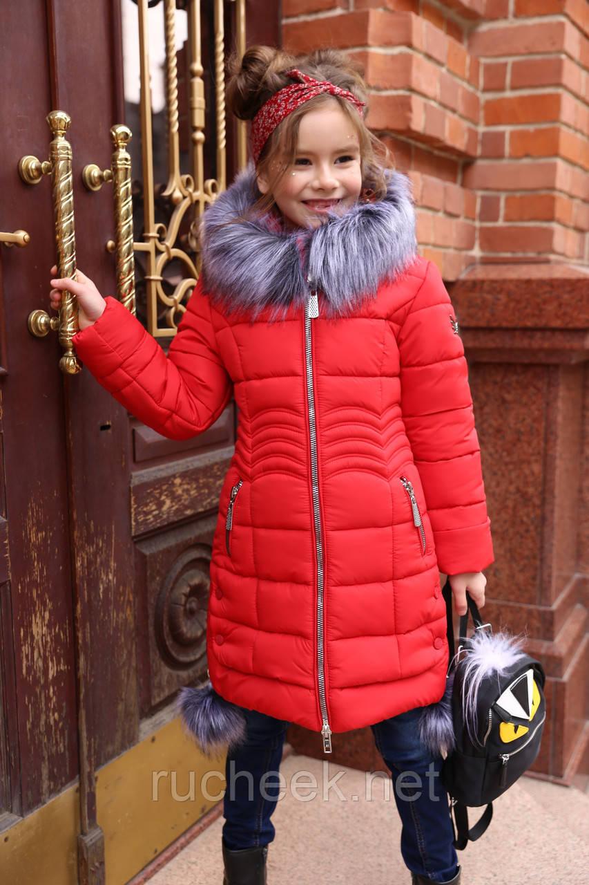 4d3384e59df Детский пуховик Кина из новой зимней коллекции 2018 2019 Nui very р-ры 116  ...