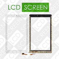 Тачскрин (touch screen, сенсорный экран) для планшета Fly Flylife Connect 10.1 3G 2, белый, оригинал, 830+1721+8+101