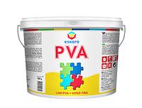 Eskaro LIIM PVA 10 л Универсальный клей ПВА для внутренних работ  - для древесины, фанеры, шпона, ДСП, ДВП