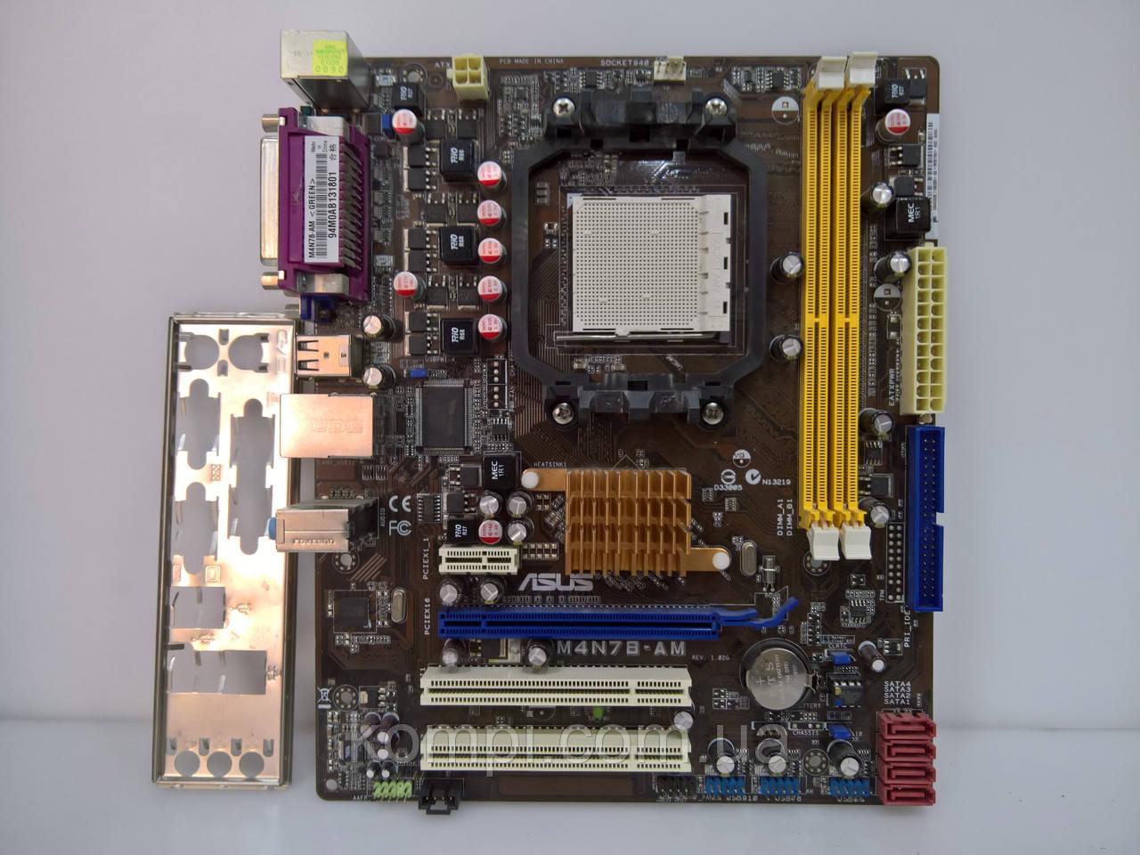 Материнская плата ASUS M4N78-AM    AM3/AM2+ DDR2