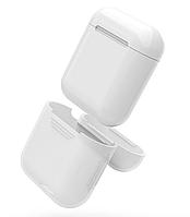 Силиконовый чехол для AirPods, White