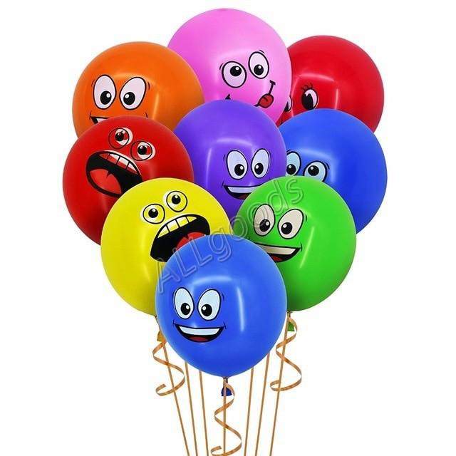 Шарики воздушные надувные для праздника 10шт/уп