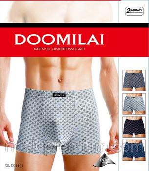 Мужские трусы боксеры Doomilai хлопок 01161